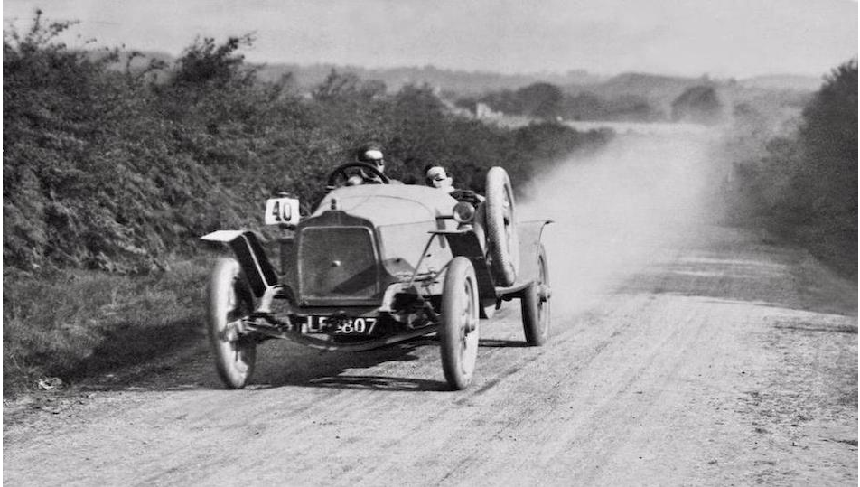 1913 Works Hill Climber ex-Sir Malcom Campell Car - Talbot Owners\' Club