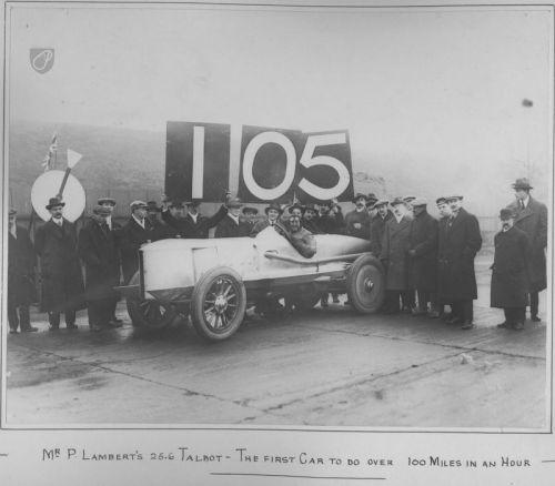 4.5 litre 25hp Clement Talbot Percy Lambert 1913