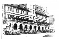 Cars in line, Rothenburg