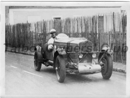 Owen Saunders-Davies in GO53 1931 Le Mans