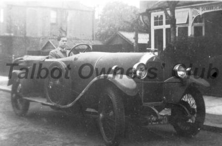 French Talbot but badged as a Darracq for the U.K. market.