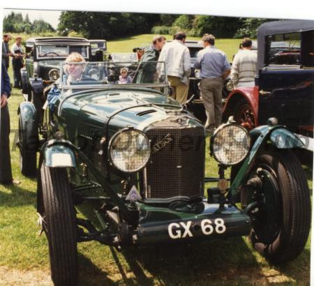 Talbot 90 GX68 at Ingestre - but 1996, or 2003?